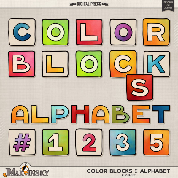 Color Blocks :: Alphabet