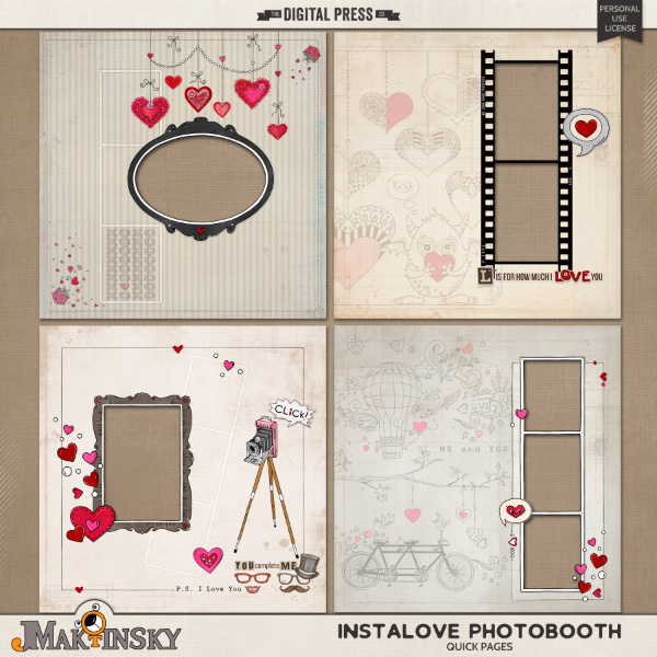 Instalove Photobooth | Quick Pages