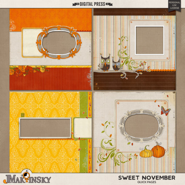 Sweet November | Quick Pages