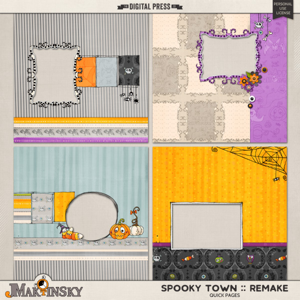 Spooky Town | Quick Pages