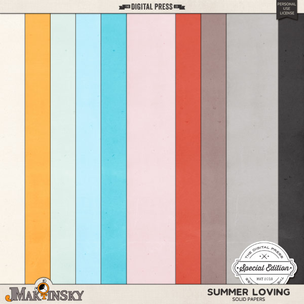Summer Loving | Solid Papers