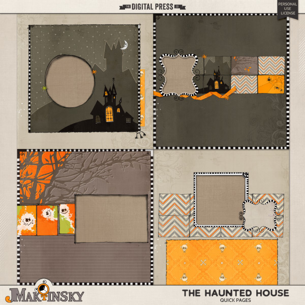 The Haunted House | Quick Pages