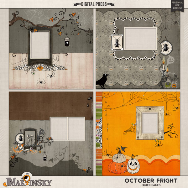 October Fright   Quick Pages