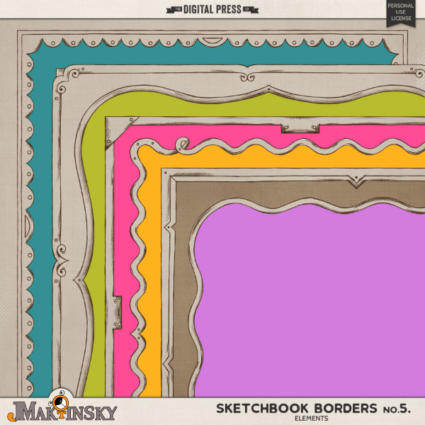 Sketchbook Borders no.5