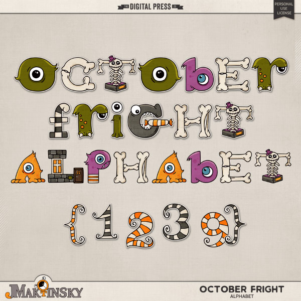 October Fright | Alphabet
