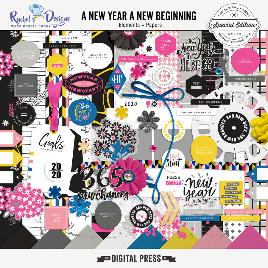 A New Year A New Beginning | Kit