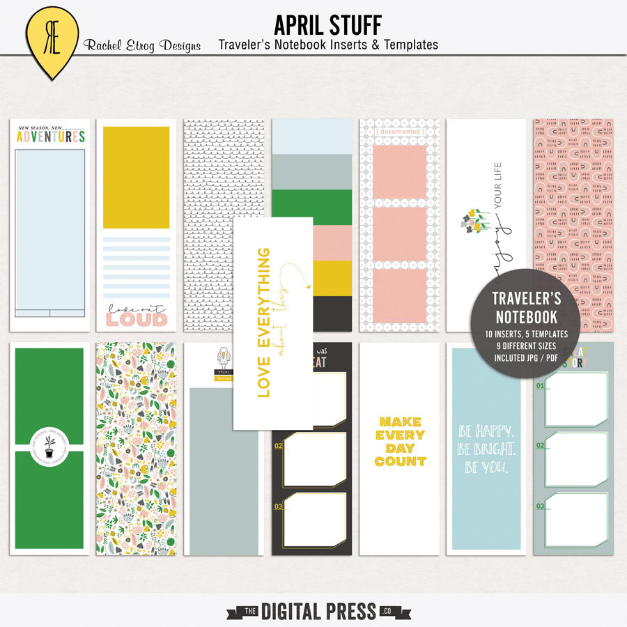 April Stuff | Traveler's Notebook