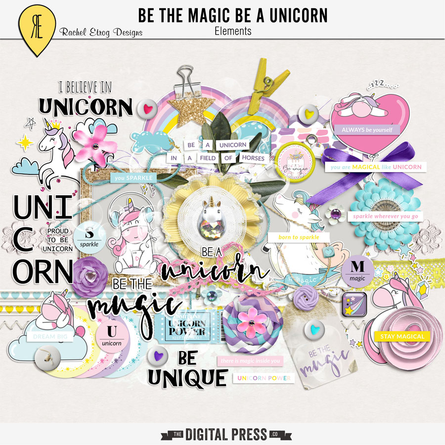 Be The Magic Be A Unicorn | Elements