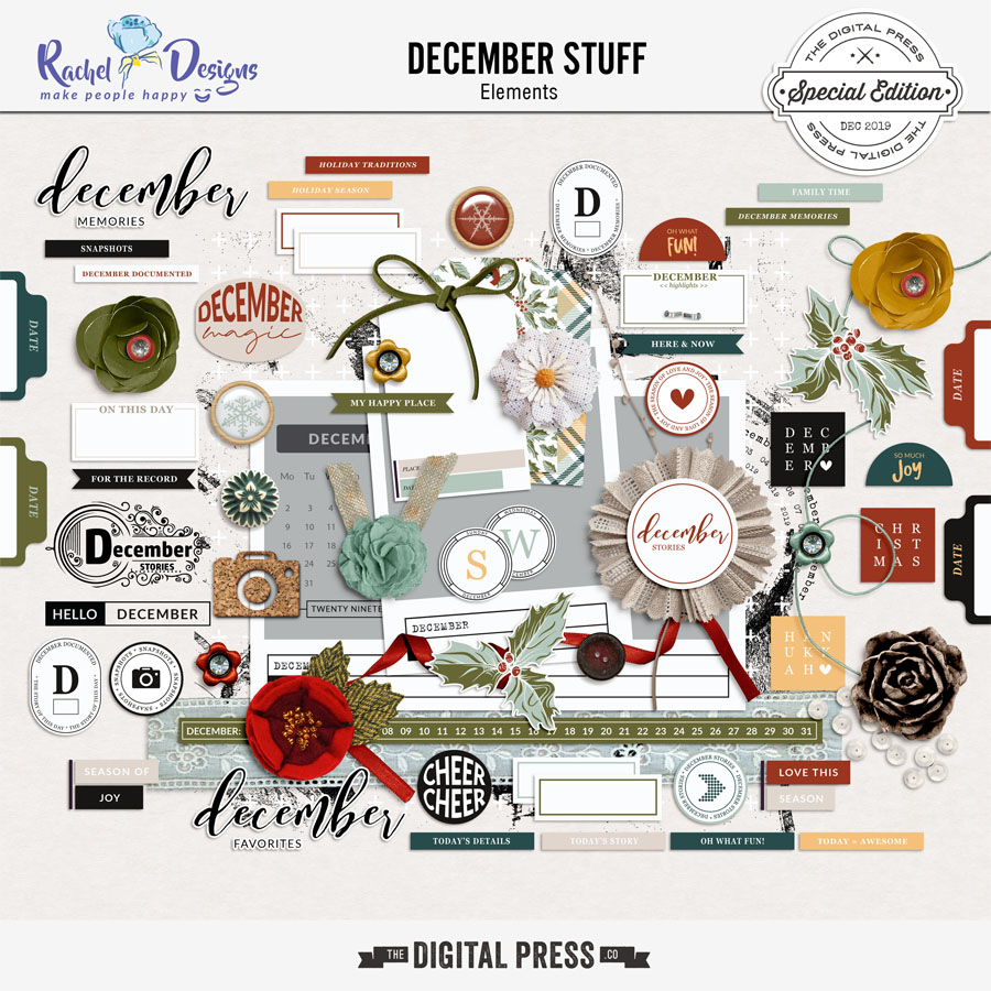 December Stuff | Elements Pack