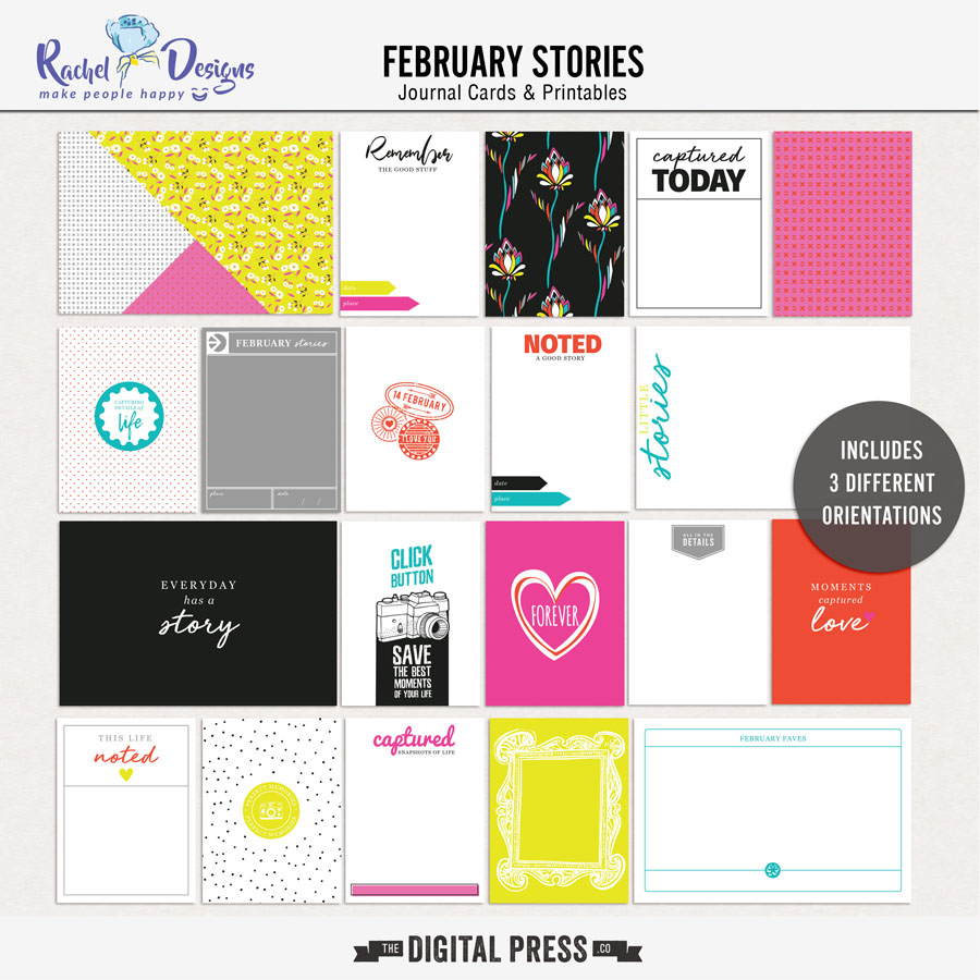 February Stories | Pocket Cards