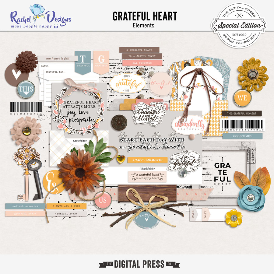Grateful Heart | Elements