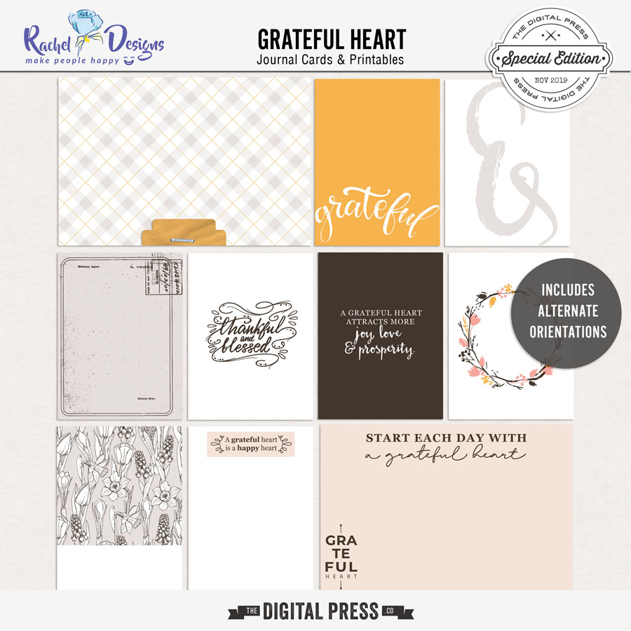 Grateful Heart | Pocket Cards