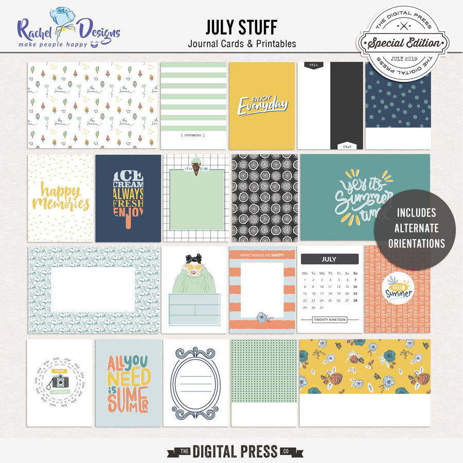 July Stuff | Pocket Cards