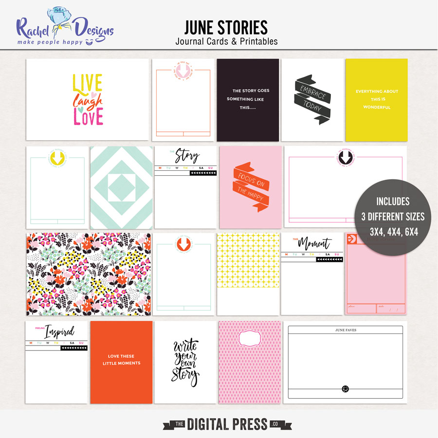 June Stories | Pocket Cards