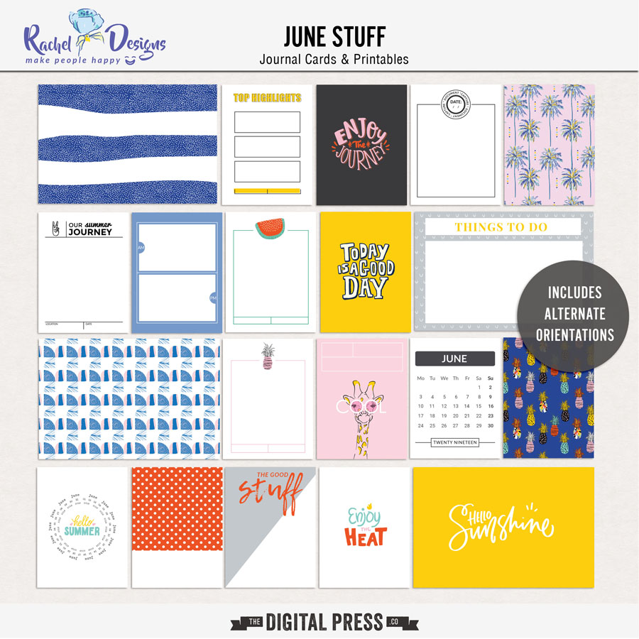 June Stuff | Pocket Cards