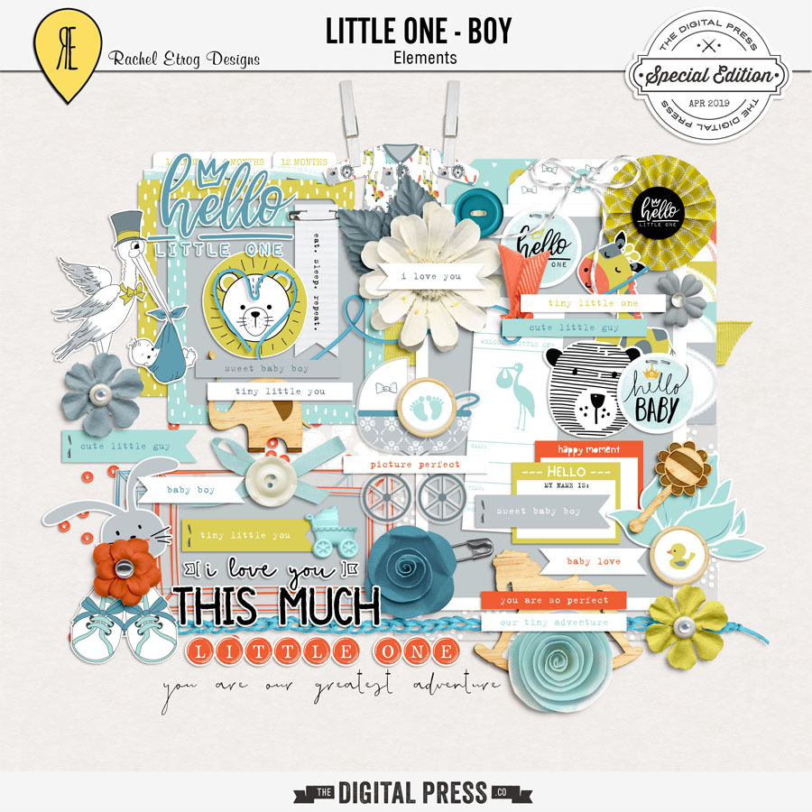 Little One Boy | Elements