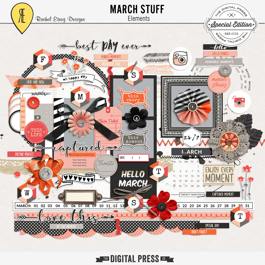 March Stuff | Elements