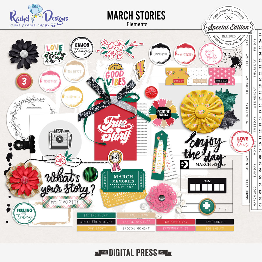 March Stories | Elements