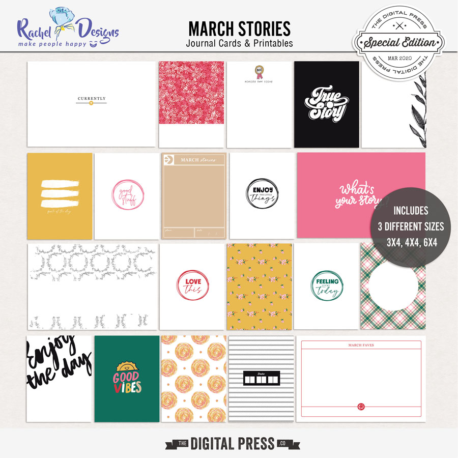 March Stories | Pocket Cards