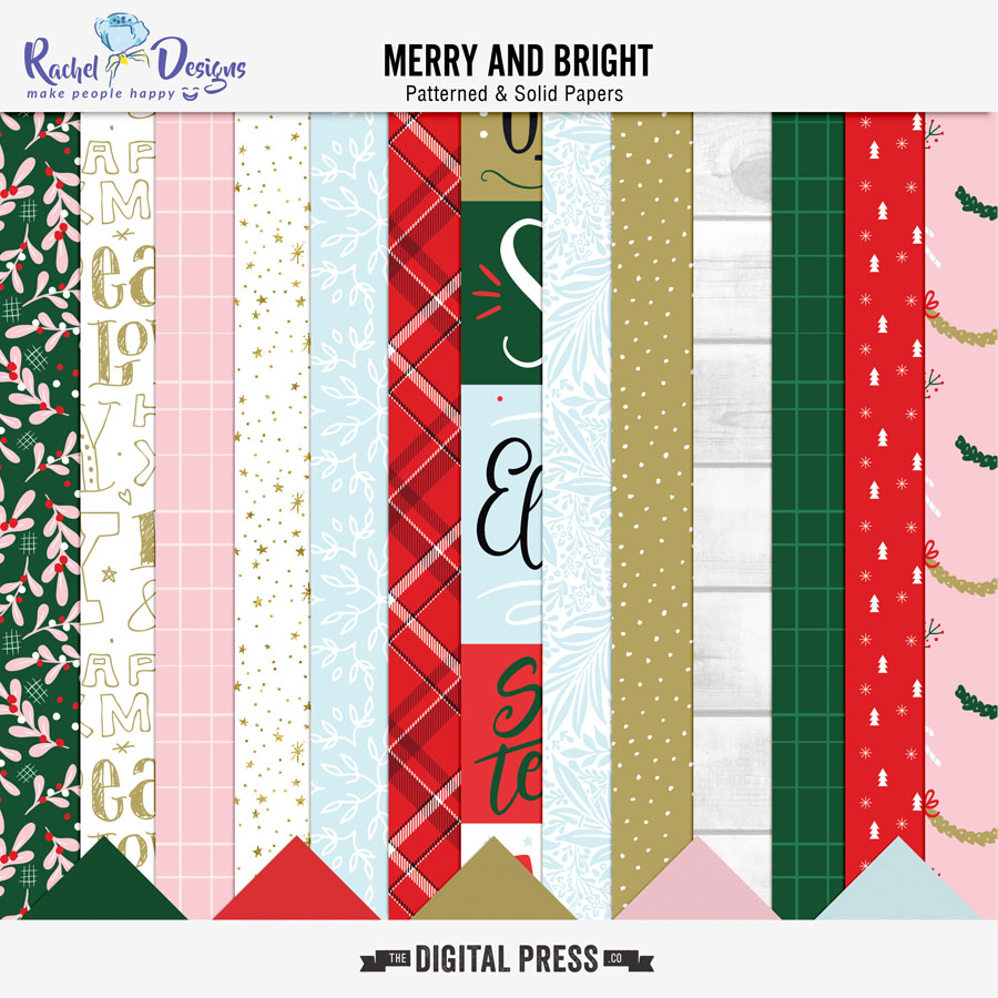 Merry And Bright | Papers