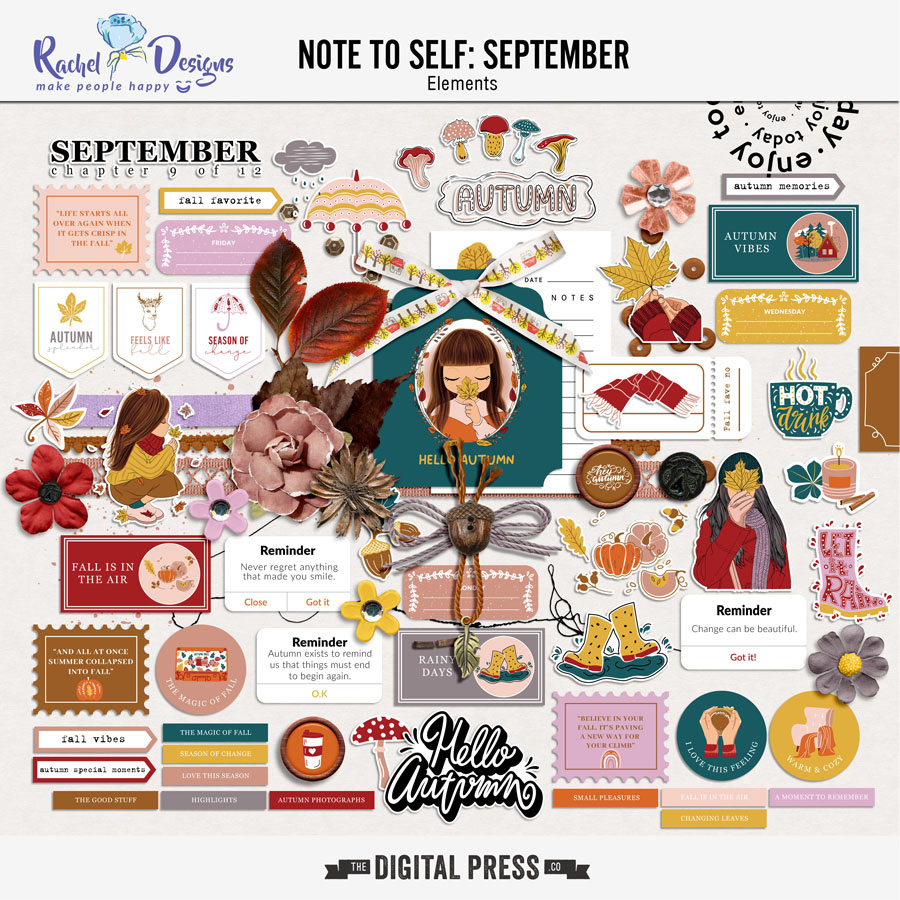 Note To Self September | Elements