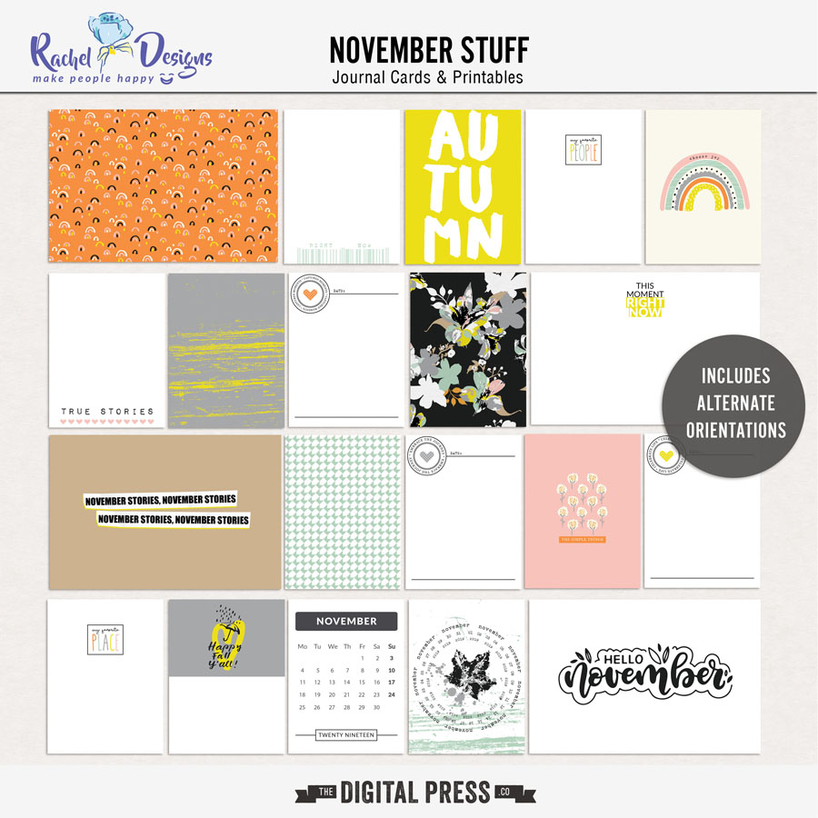 November Stuff | Pocket Cards