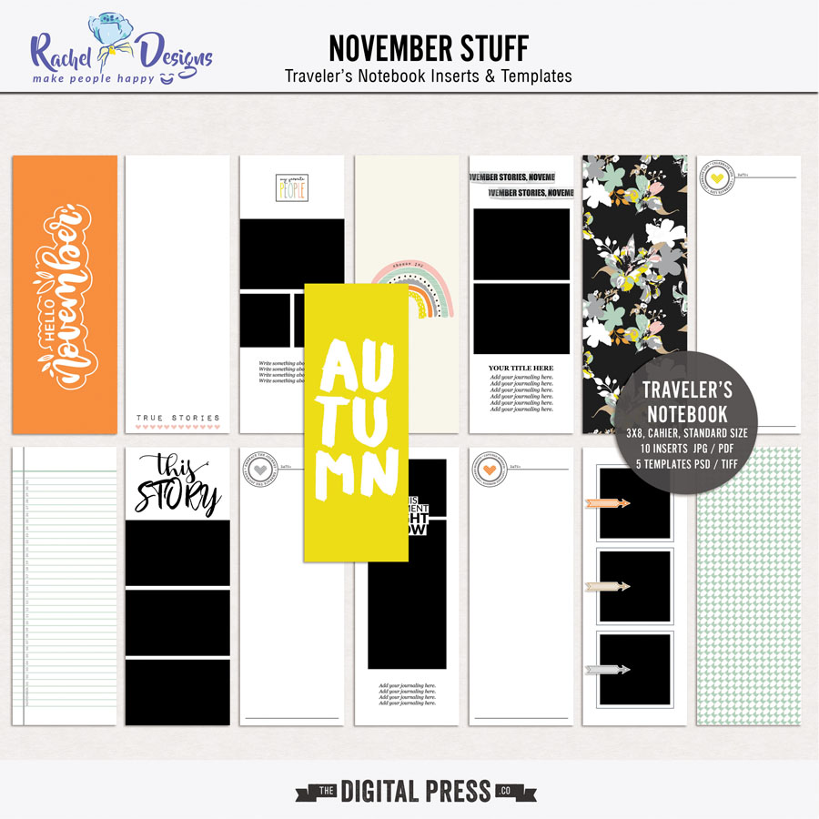 November Stuff | Traveler's Notebook