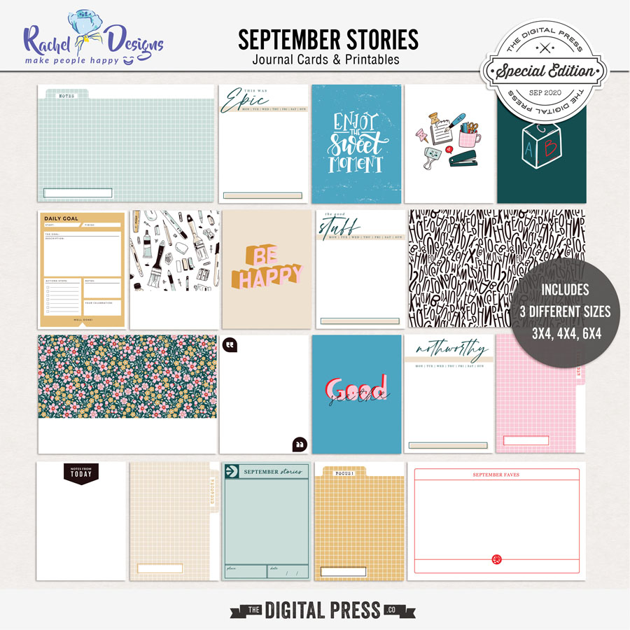 September Stories | Pocket Cards