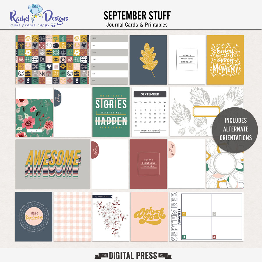 September Stuff | Pocket cards