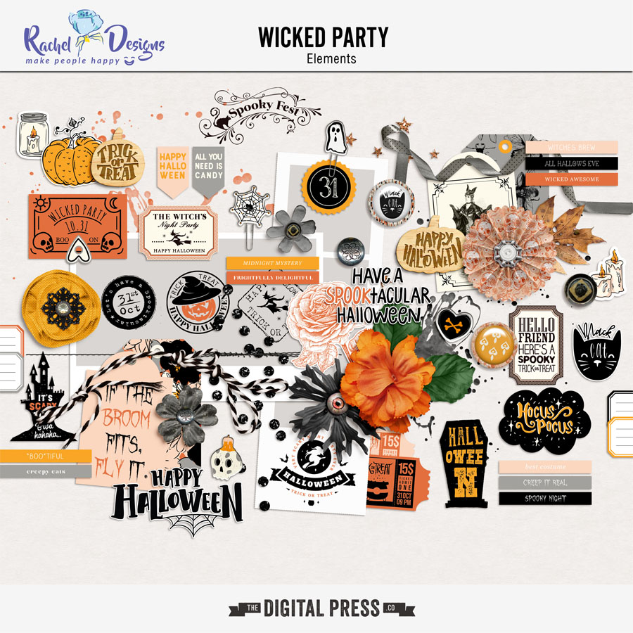 Wicked Party   Elements