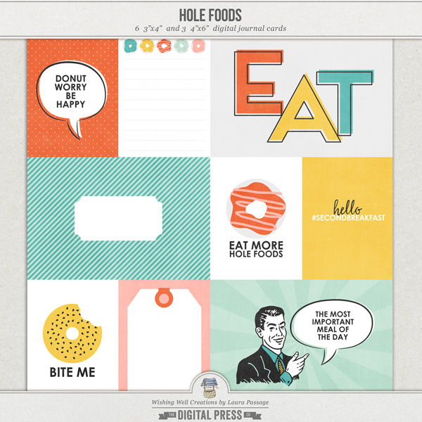 Hole Foods | Journal Cards