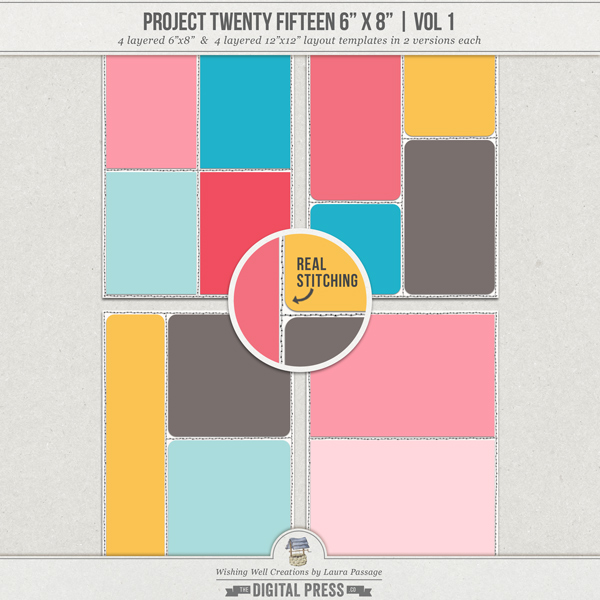 "Project Twenty Fifteen 6""x8"" (Vol 1) 