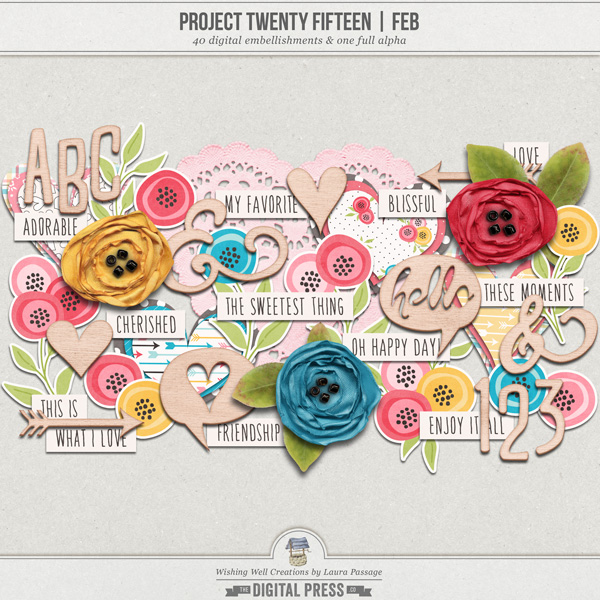 Project Twenty Fifteen | February Elements