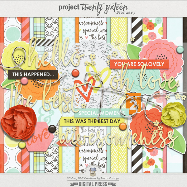 Project Twenty Sixteen | February Kit