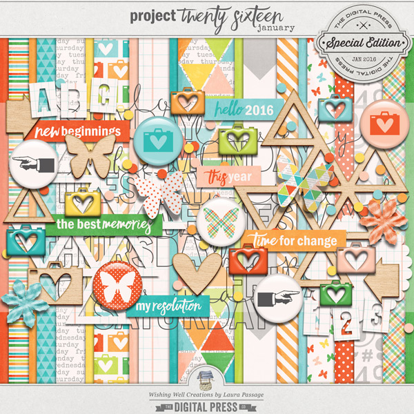 Project Twenty Sixteen | January Kit