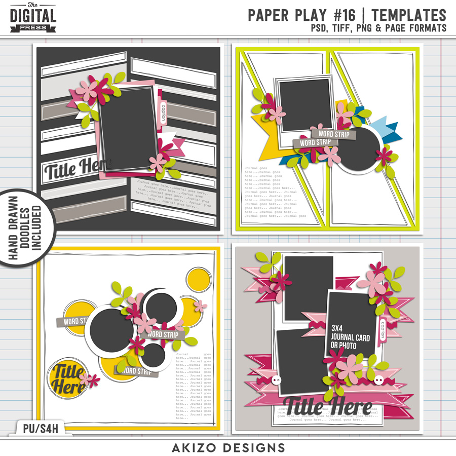 Paper Play 16 | Templates