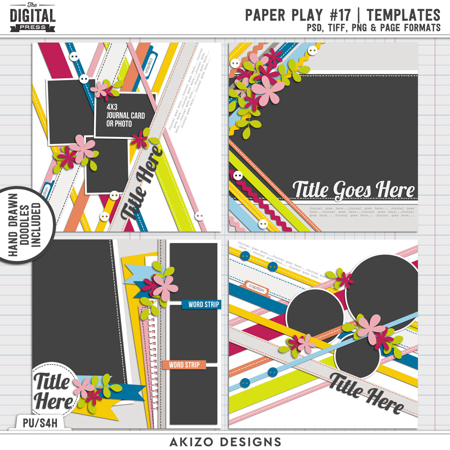 Paper Play 17 | Templates
