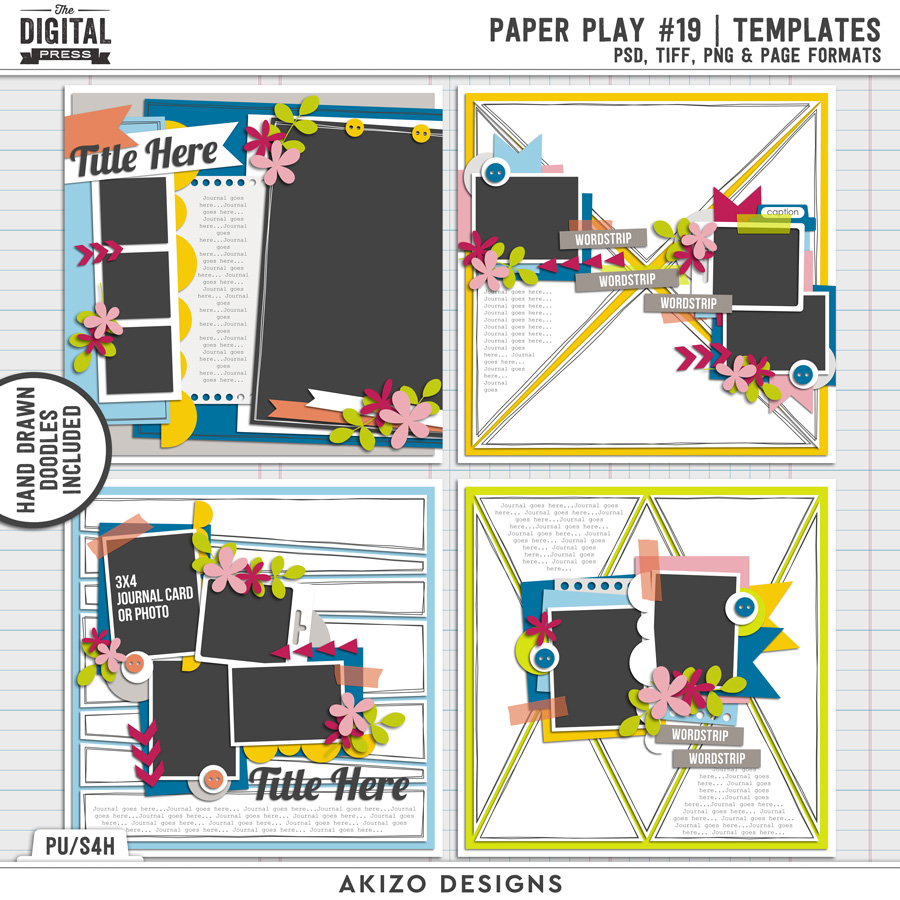 Paper Play 19 | Templates