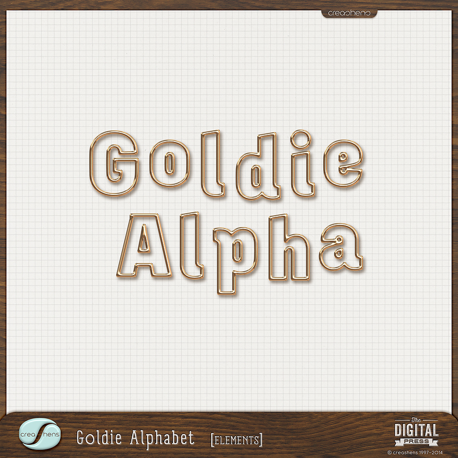 Goldie Alphabet