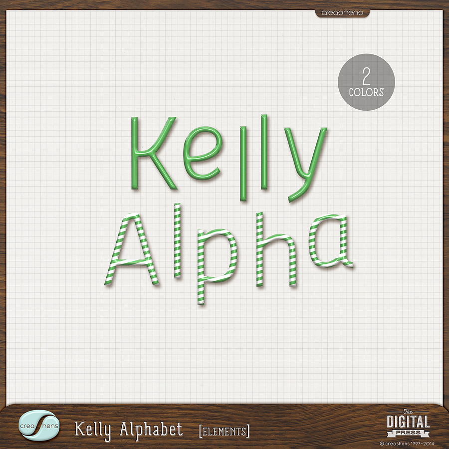 Kelly Alphabet