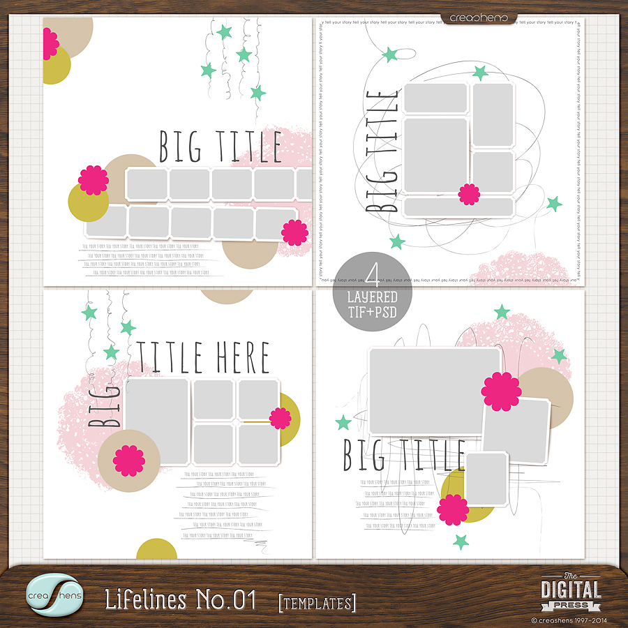 Lifelines No. 01 Templates