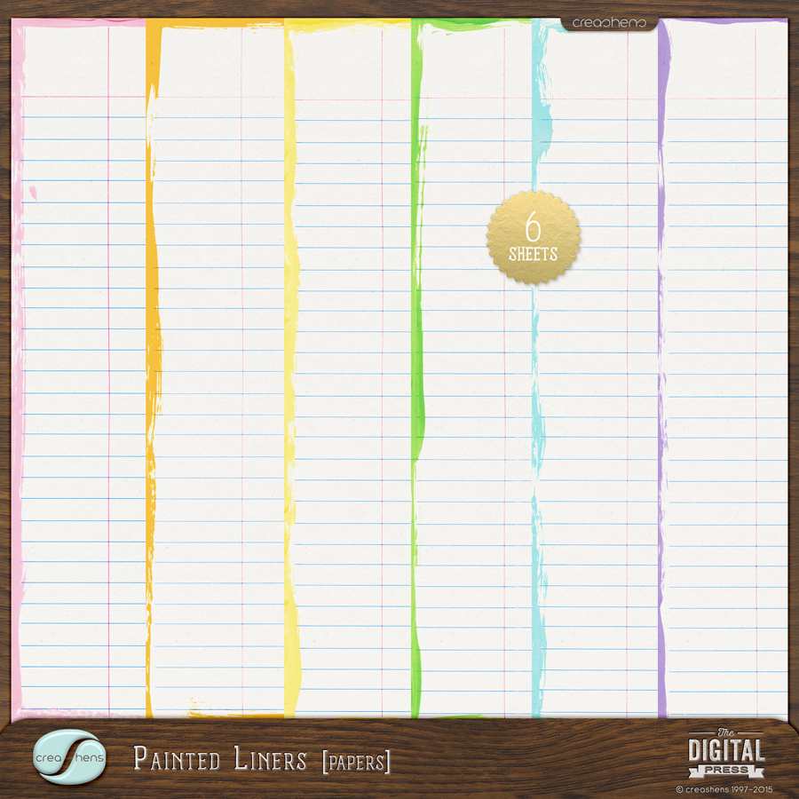 Painted Liners Papers