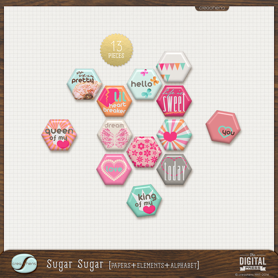 Sugar Sugar Flairs
