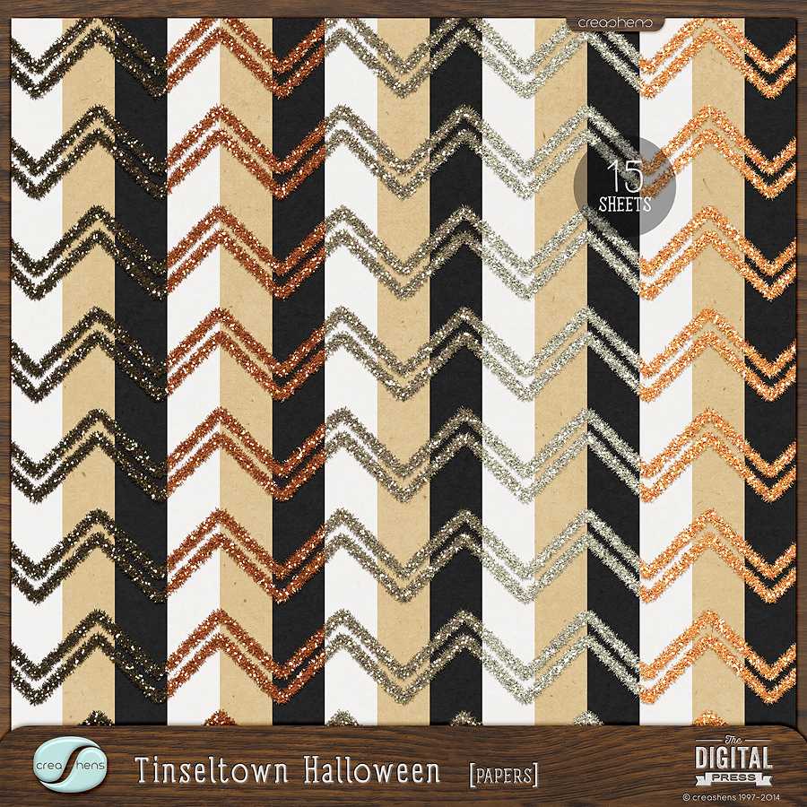 Tinseltown | Halloween Papers