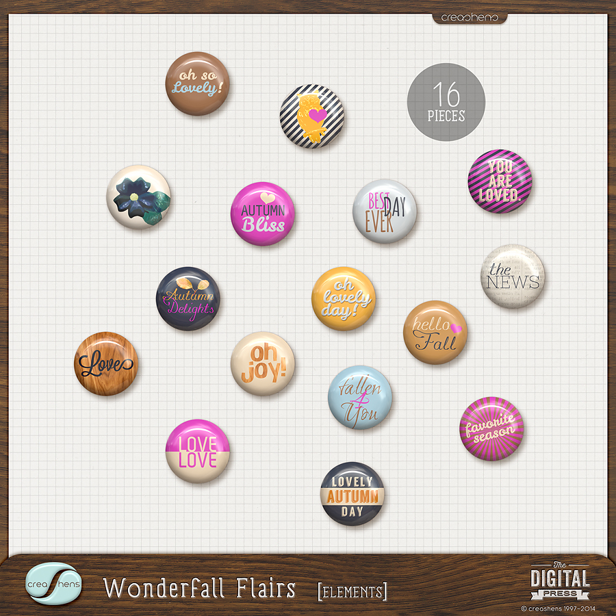 Wonderfall Flairs