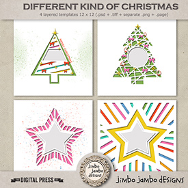 Different kind of Christmas | Templates