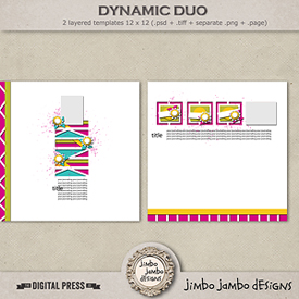 Dynamic duo | Templates
