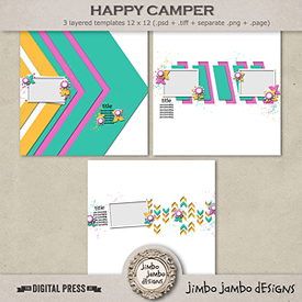 Happy camper | Templates