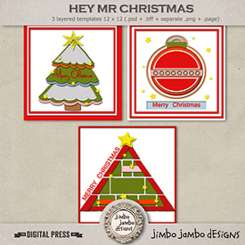 Hey Mr Christmas | Templates