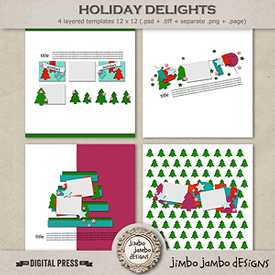 Holiday delights | Templates
